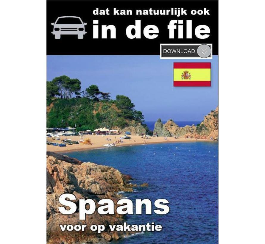 Spaans leren voor vakantie - Luistercursus Spaans  [Download]