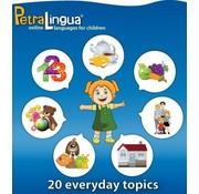 PetraLingua - Taalcursussen voor kinderen Online Engels leren voor Kinderen - Online Taalcursus