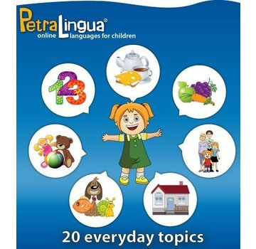 PetraLingua - Taalcursussen voor kinderen Spaans leren voor Kinderen - Online cursus Spaans (PetraLingua)