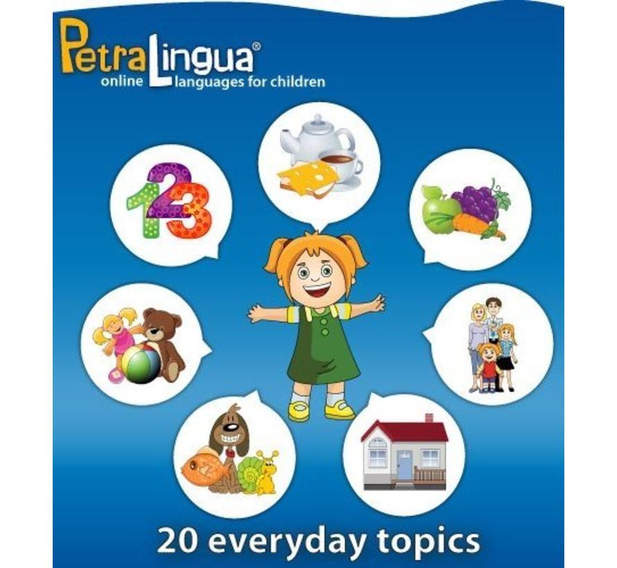 Spaans leren voor kinderen - Online taalcursus