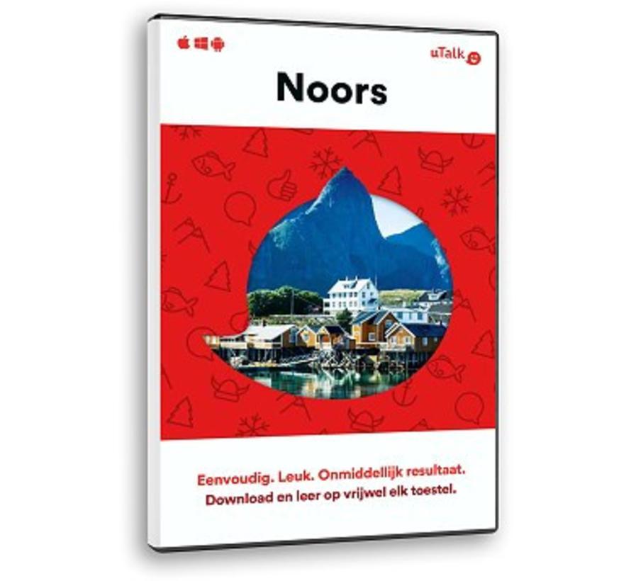 uTalk leer Noors - Online cursus