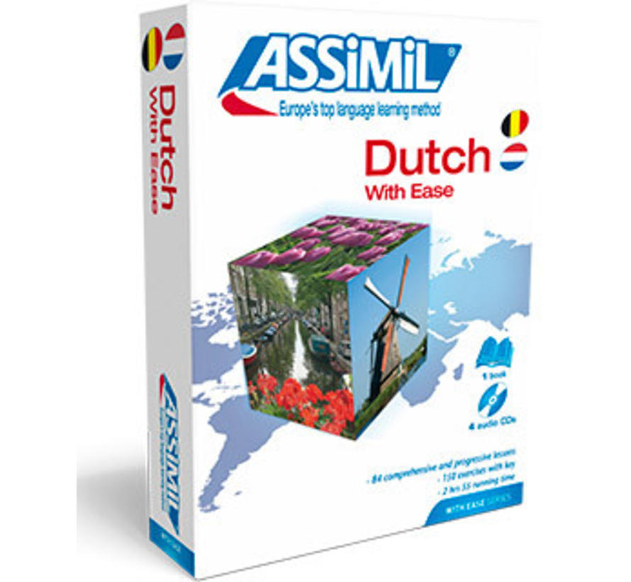 Learn Dutch with Ease - Book +  CD's - Dutch  for beginners