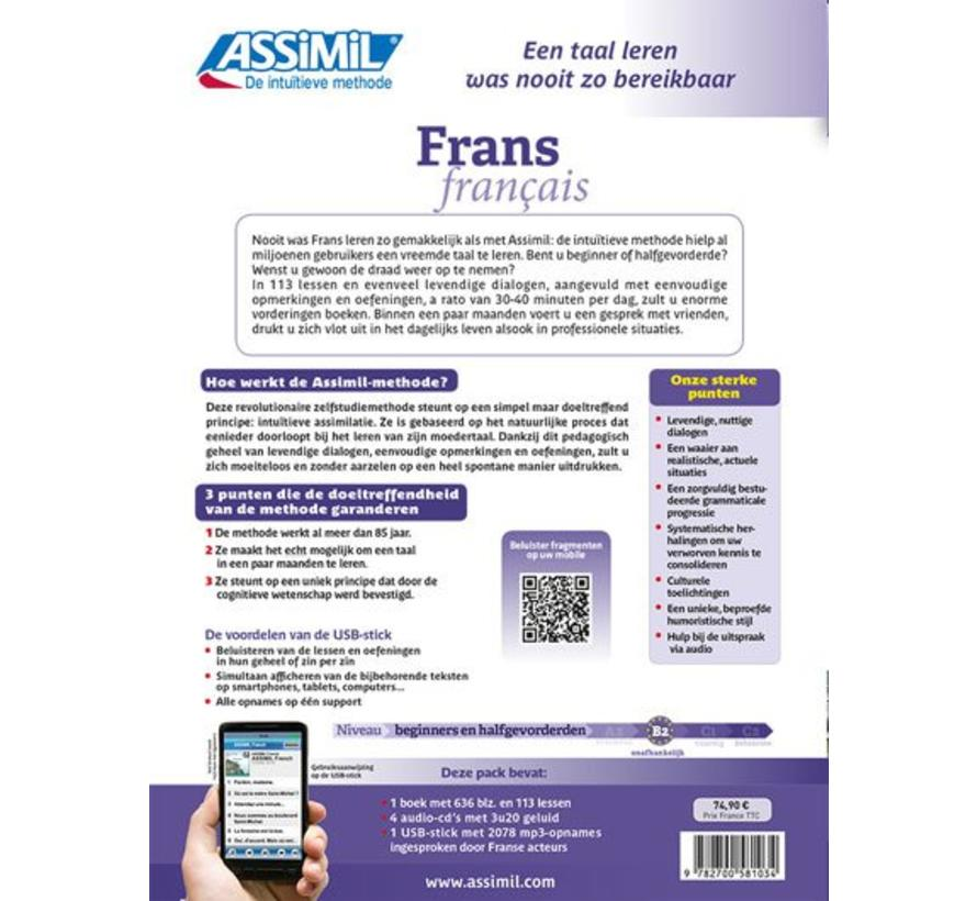 Assimil Frans zonder moeite - Superpack