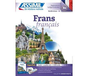 Assimil - Taalcursussen & Leerboeken Frans leren zonder moeite - Boek + CD + Audio