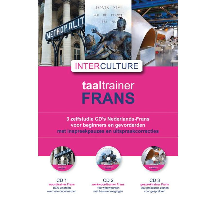 Interculture Taaltrainer Frans  leren - 9 CD SET