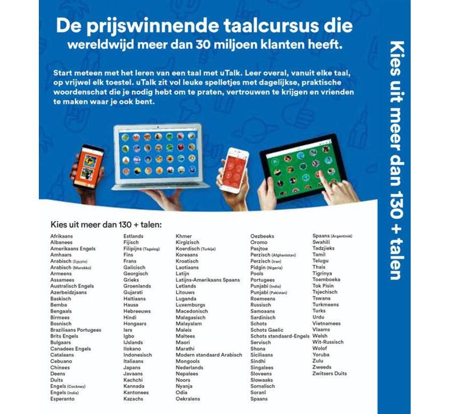 uTALK - Online taalcursus - Kies uit 130 talen