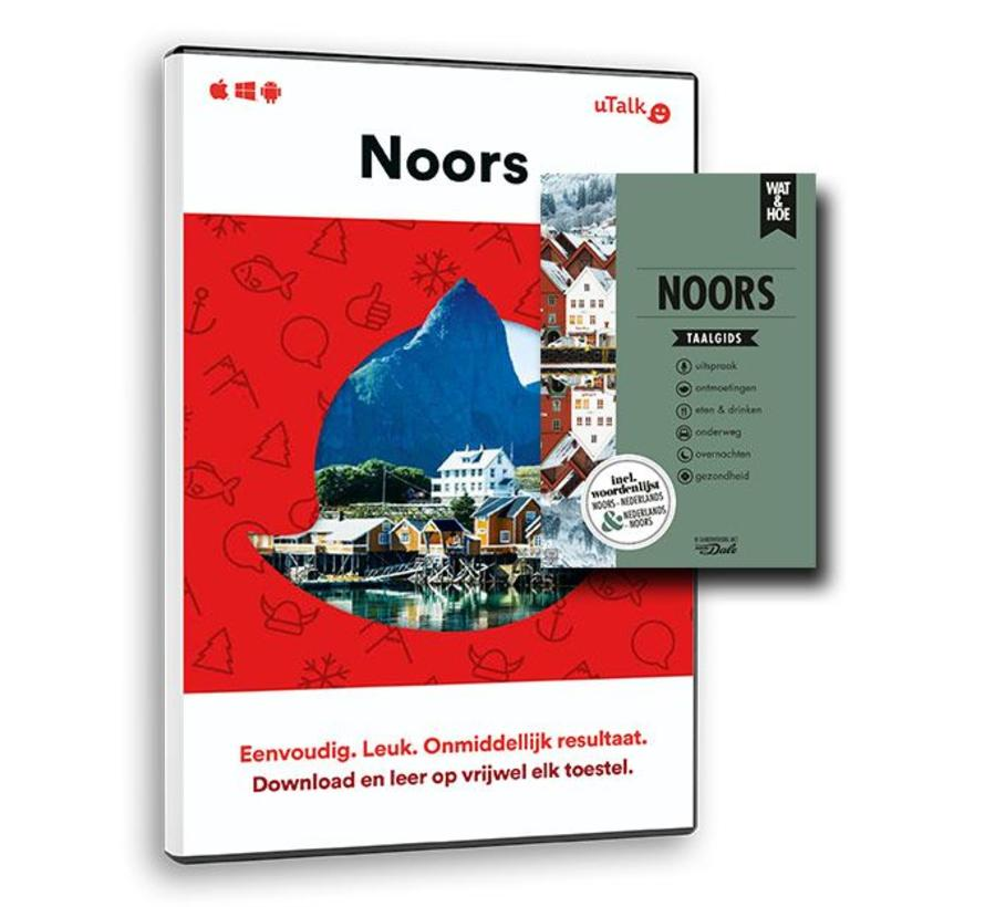 De complete cursus Noors: Online taalcursus + Leerboek Noors (Taalgids)