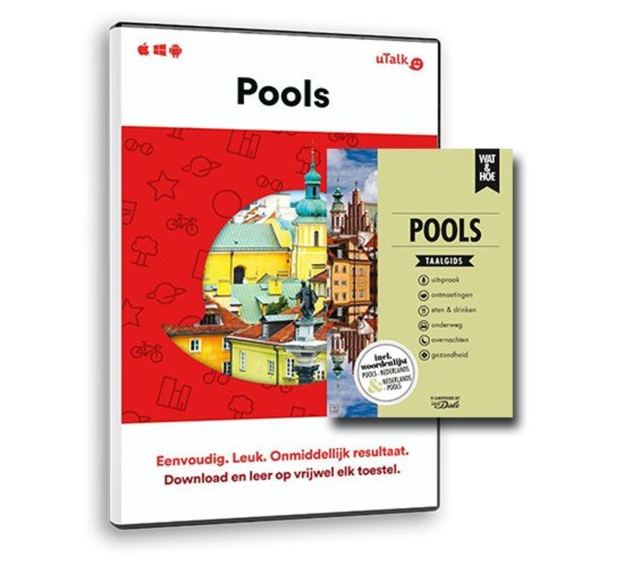 Complete cursus Pools: Online taalcursus +  Taalgids/Leerboek Pools