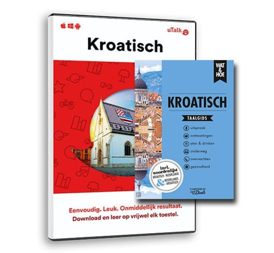 De complete cursus Kroatisch: Online taalcursus + Boek (Taalgids)