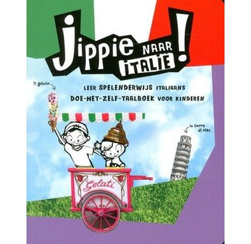 Kosmos Reis- en Taalboek Italiaans voor kinderen - Jippie naar Italië