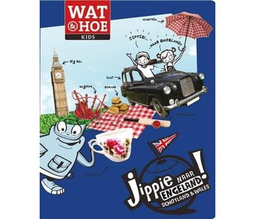 Kosmos Reis- en Taalboek Engels voor kinderen - Jippie naar Engeland!