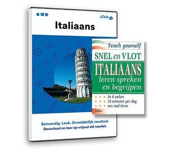 Complete taalcursus Italiaans leren - ONLINE cursus + Leerboek Italiaans
