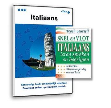 Complete taalcursus Leer Italiaans - BOEK + ONLINE  taalcursus | Complete cursus Italiaans
