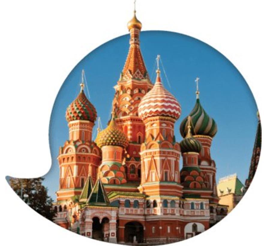 Complete cursus Russisch: Online taalcursus + Taalgids