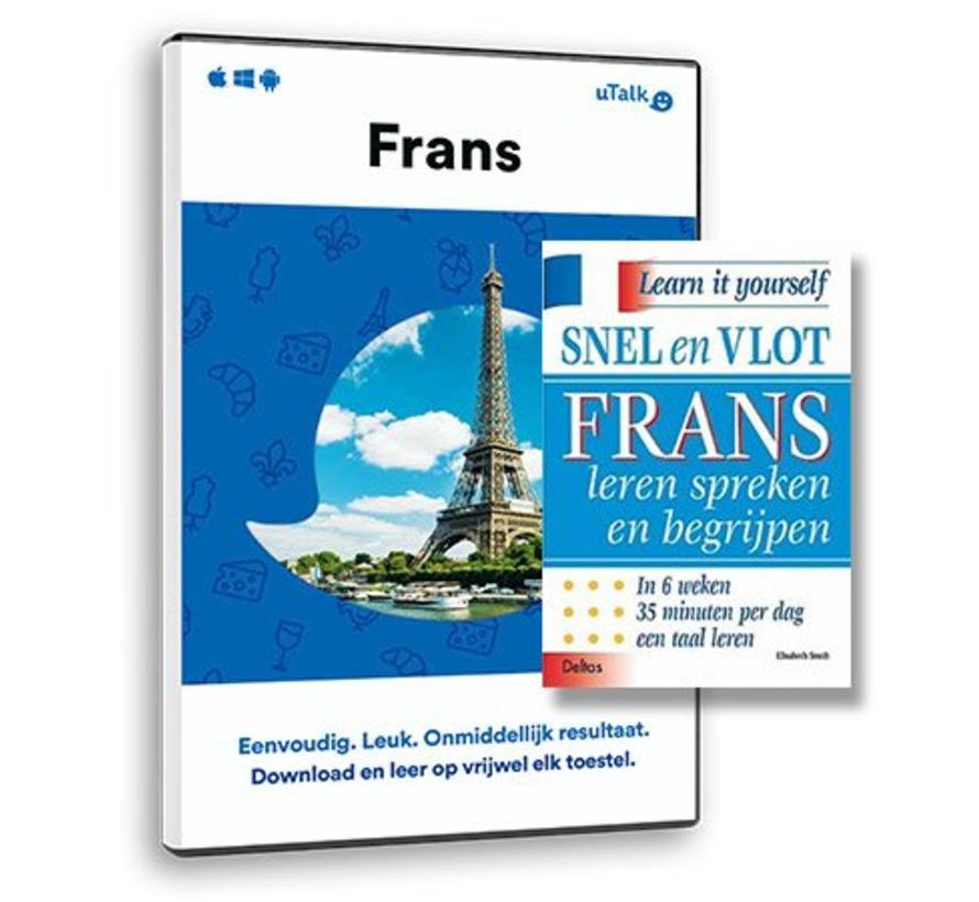 De complete cursus Frans: Online taalcursus + Leerboek Frans