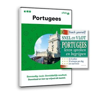 Complete taalcursus Snel en Vlot Portugees leren PAKKET - Lesboek + Online taalcursus
