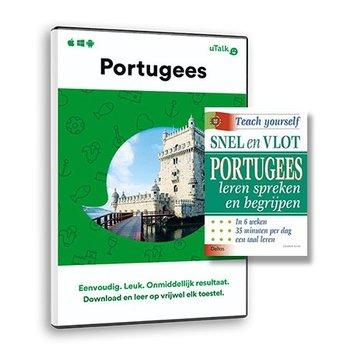 Complete taalcursus Leer Portugees  voor beginners | Complete cursus Portugees - Online + Leerboek Portugees