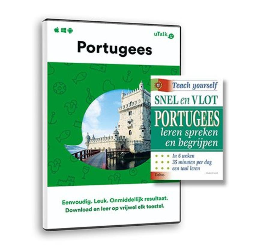 De complete cursus Portugees: Online taalcursus + Leerboek Portugees