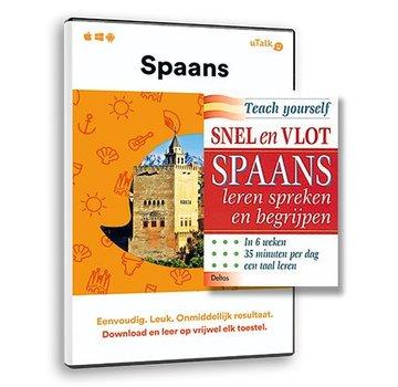 Complete taalcursus Snel en Vlot Spaans leren PAKKET - Lesboek + Online cursus Spaans
