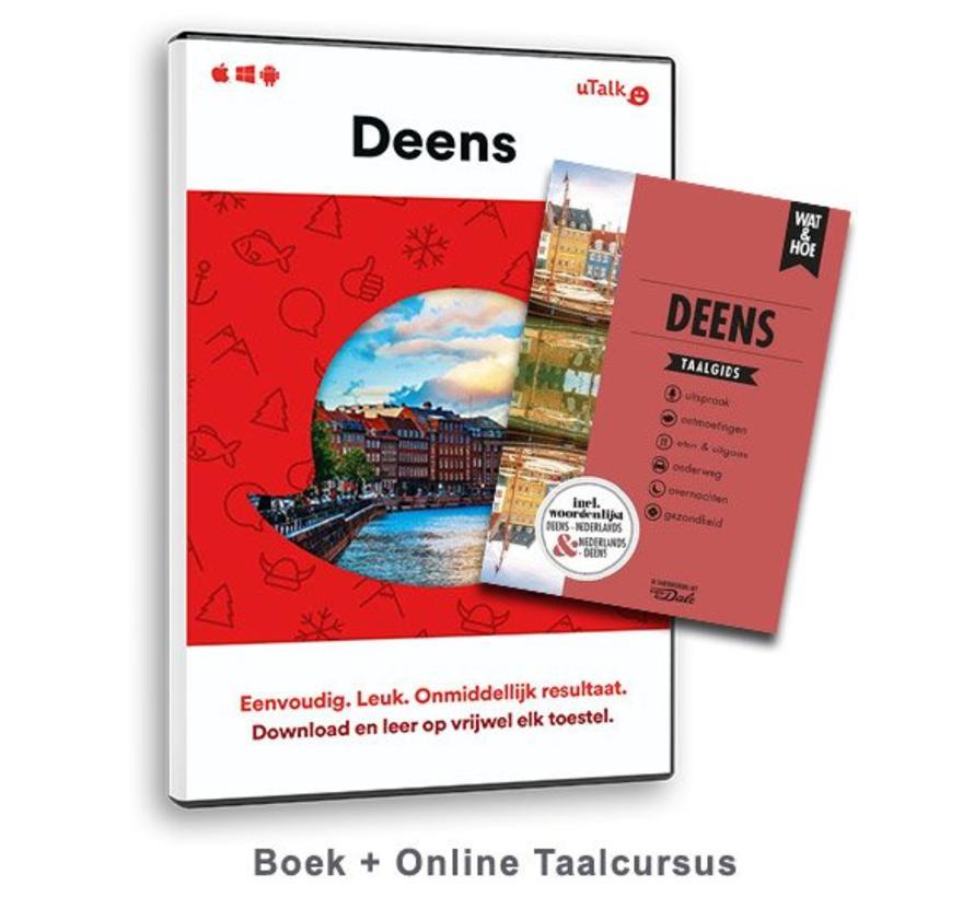 De complete cursus Deens: Online taalcursus + Boek (Taalgids