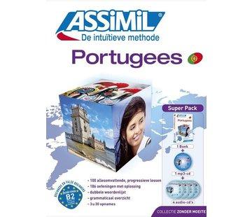 Assimil - Taalcursussen & Leerboeken Portugees leren zonder moeite (Boek + Audio CD's)