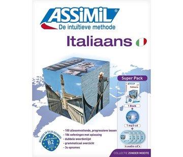 Assimil - Taalcursussen & Leerboeken Italiaans leren zonder moeite - Boek + CD + Audio