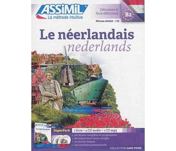 Assimil - Taalcursussen & Leerboeken Le Néerlandais Sans Peine - Cours de néerlandais (Boek + CD + Audio) | Nederlands leren vanuit het Frans