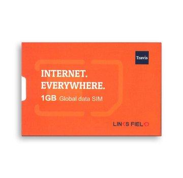 Travis Translators Travis Translator 1GB Data SIM card voor internet