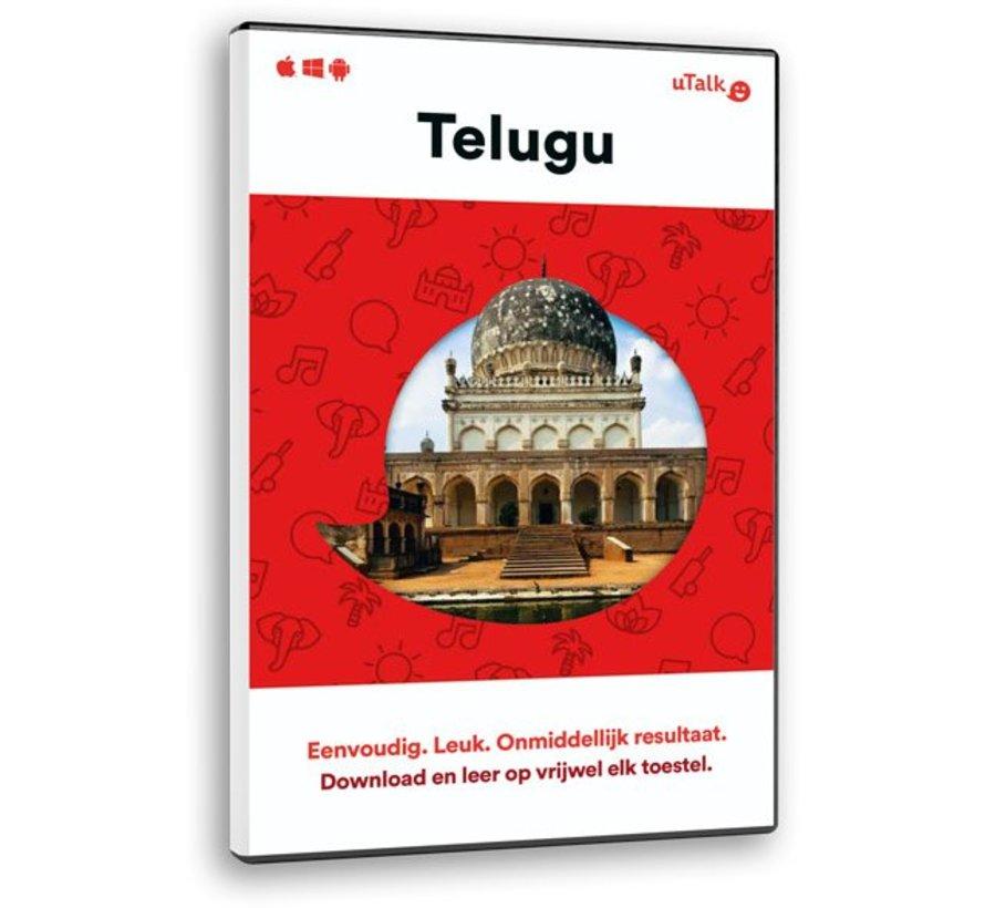 uTalk leer Telugu - Online Taalcursus