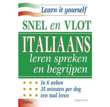 Deltas Snel en Vlot Italiaans leren spreken en begrijpen