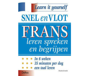 Deltas Snel en Vlot Frans leren spreken en begrijpen