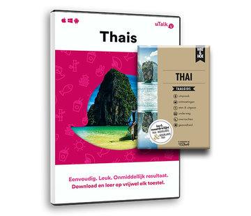 Complete taalcursus Thais leren voor Vakantie - BOEK + ONLINE cursus Thais