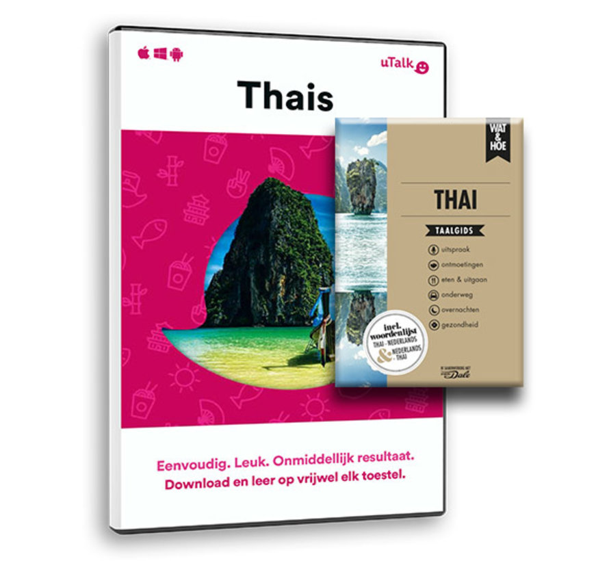 De complete cursus Thais: Online taalcursus + Taalgids Thai