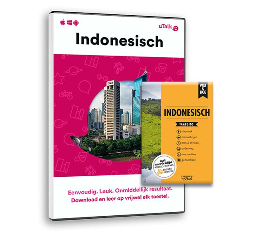 Complete cursus Indonesisch: Online taalcursus + Taalgids