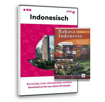 Complete taalcursus Snel en Vlot Indonesisch leren PAKKET - Lesboek Bahasa Indonesia + Online taalcursus