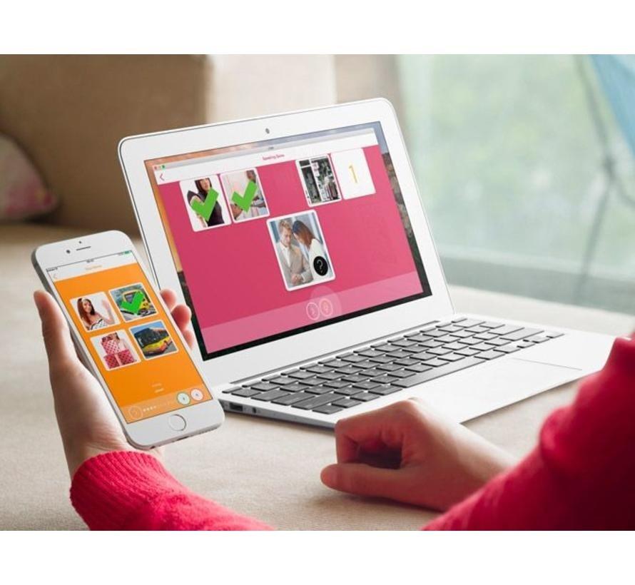 Compleet Spaans leren: Online taalcursus + Leerboek Spaans