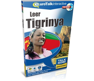 Eurotalk Talk Now Cursus Tigrinya voor Beginners - Leer de Tigrinya taal (CD + Download)