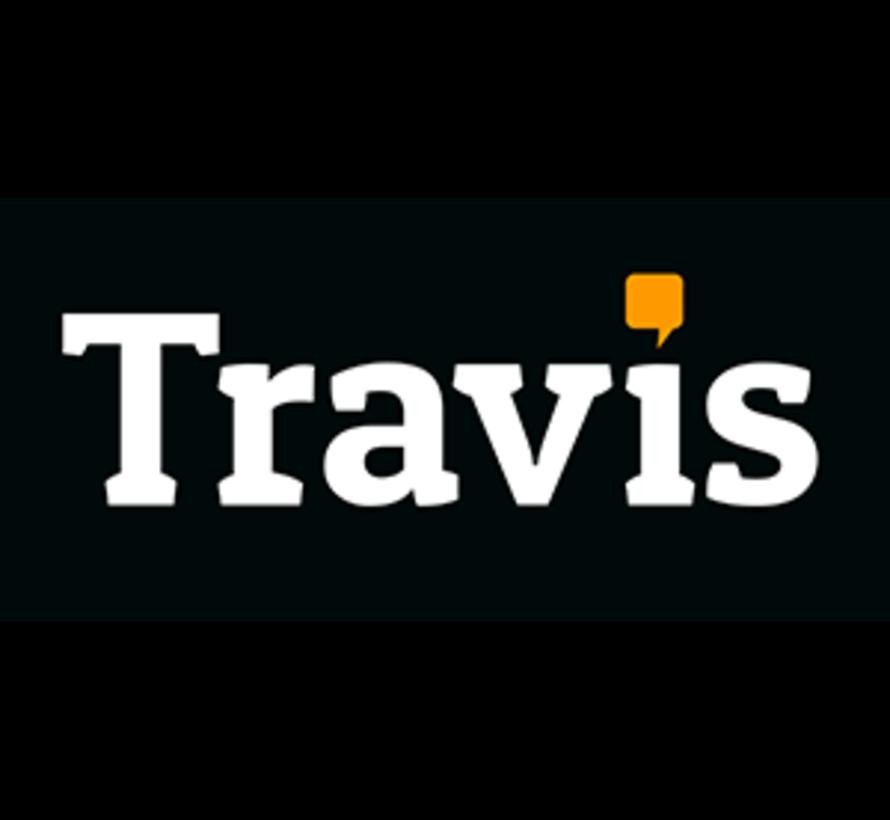 Travis Translator Travel edition (Vertaalcomputer + Gratis data/Simcard + Beschermhoes)
