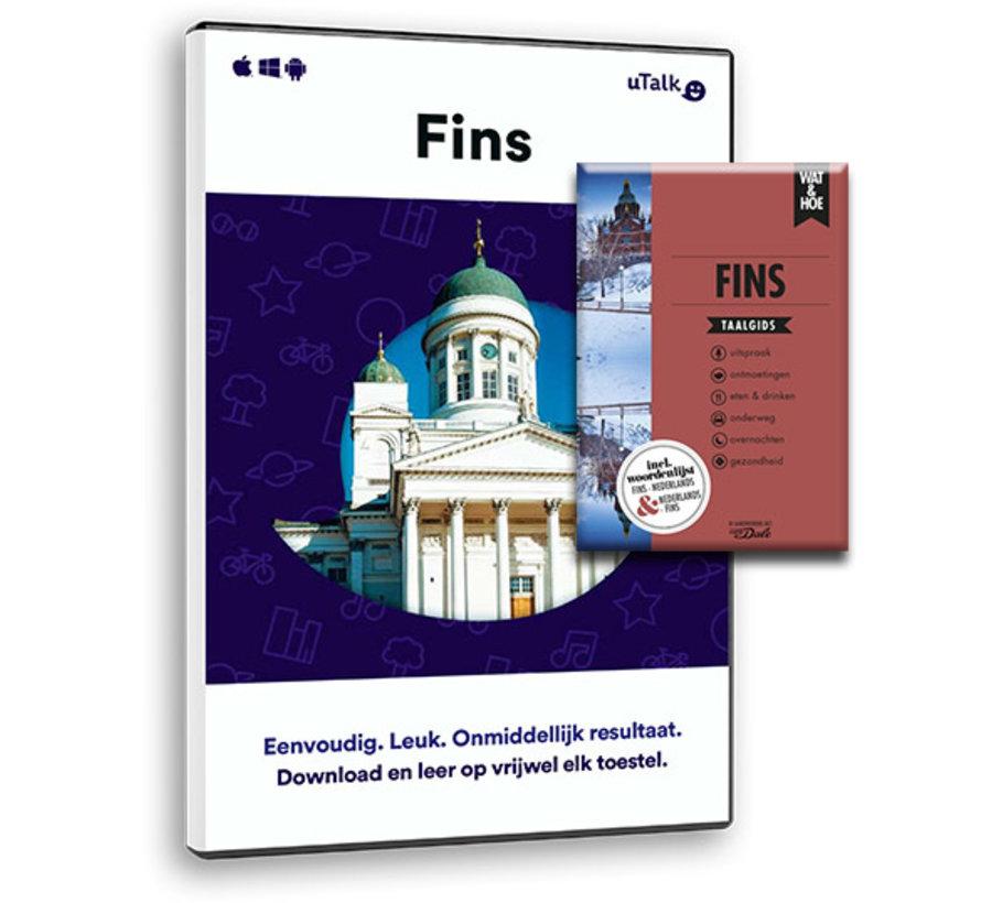 De complete cursus Fins : Online taalcursus + Leerboek Fins (Taalgids)