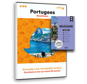 Complete taalcursus Compleet Braziliaans Portugees leren (Boek + Online cursus Braziliaans)