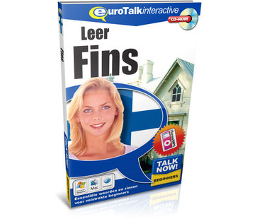 Eurotalk Talk Now Leer Fins voor Beginners - Basis cursus Fins (CD + Download)