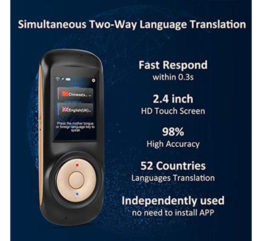AI -  Slimme  vertaalcomputer - Gesprek en Spraak vertaler