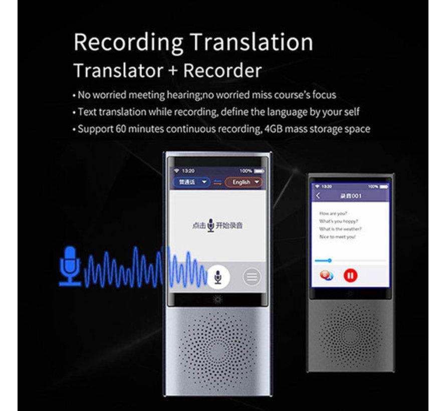 AI - Vertaalcomputer PRO- 78 talen | Draagbare vertaler voor Gesprekken, Spraak en Tekst