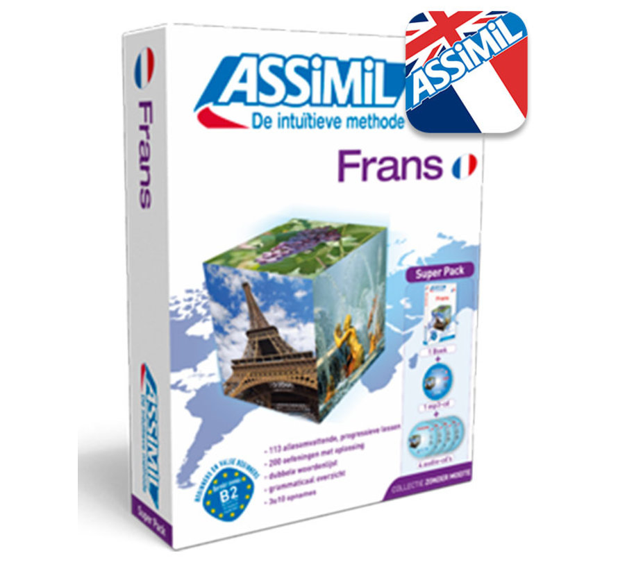 Assimil Frans zonder moeite (Superpack)