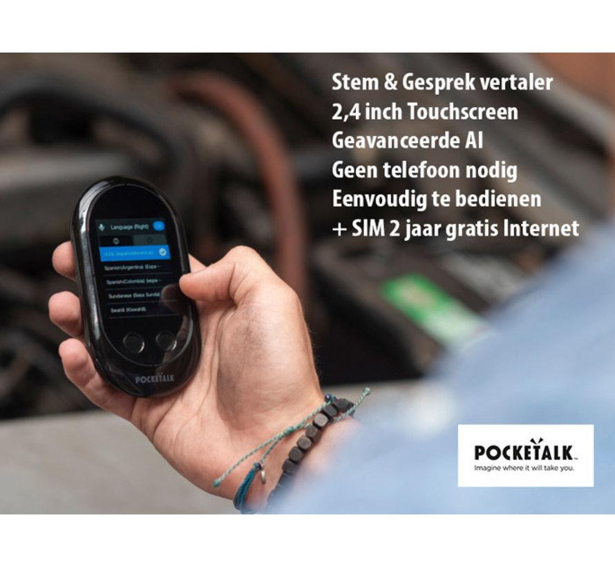 Pocketalk Translator  (Vertaalcomputer + SimCard voor Gratis Internet)