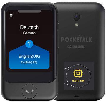 Pocketalk Translator - Vertaalcomputer Pocketalk S Translator (NIEUW) | Draagbare Vertaler - Stem, Foto & Gesprek Vertaalapparaat  + Camera + SimCard voor Wereldwijd vertalen