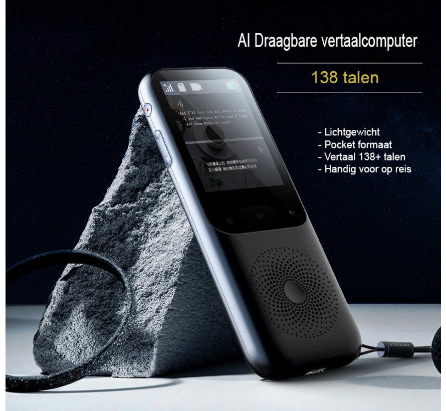 Slimme Intelligente Vertaalcomputer 138 talen + Camera  (WiFi/Hotspot/Offline)