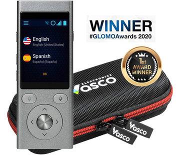Vasco Translators Vasco 2 Pocket Vertaler + GRATIS Internet (Spraak- en Gesprek Vertaler - Draagbare Vertaalcomputer + Luxe beschermhoes)