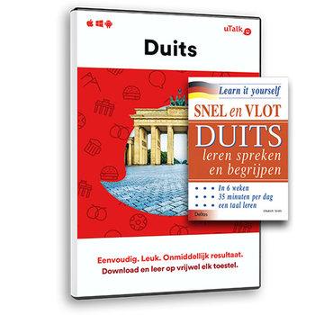Complete taalcursus Snel en Vlot Duits leren PAKKET - Lesboek + Online cursus Duits