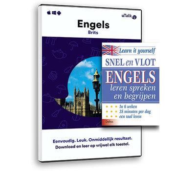 Complete taalcursus Snel en Vlot Engels leren PAKKET - Leerboek + Online cursus Engels